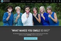 Dental Website Design / We're known for killer dental websites! Check out our portfolio of case studies of websites for orthodontists and dentists.