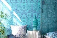Color Me: Turquoise / by Royal Design Studio Stencils