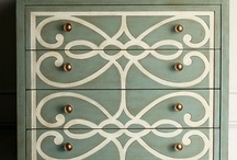 Beautiful ReStorations / Instead of throwing away that interesting piece of furniture and adding to an already over-burdened landfill- why not take out some paint, stain, wallpaper or stencils and restore it?