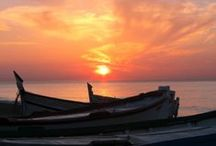 Sunsets & sunrises in Calella