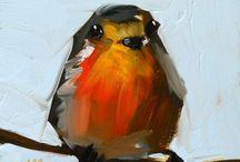 dyr / kunst maleri tegning