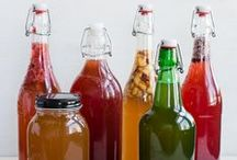 """Boocha and Ferments / When you give up sodas and eat clean... nothing taste good but fresh water until... Kombucha and natural ginger ales.  Venturing into new """"pets"""" / by Amanda Townsend"""