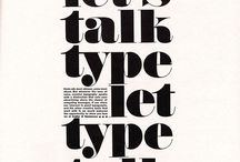 Fonts & Typography / Fonts and typography for blog design and website branding.