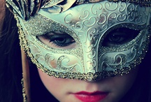 Masquerade / Mask for Masquerades or outfits / by Katie Clifford