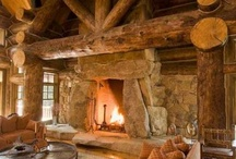 Vacation House {Reynolds-Style} / You can keep the mass produced beach condos- build me a rustic wood cabin in the woods.  / by Aubrey Reynolds