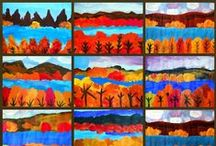 art class ideas / by Shari Sysol-Alongi