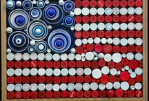 Bottle Cap Art / by Shari Sysol-Alongi