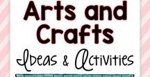 Arts and Crafts Ideas and Activities / Are you a teacher looking for fun arts and crafts lessons?  This board is full of art inspiration and ideas for kids in elementary school.