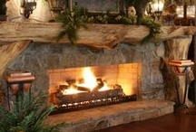 Fireplaces / by Kathy Wallace