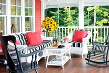 Porches, Patio's & Decks / by Kathy Wallace