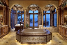 Powder Rooms/Bathrooms / by Kathy Wallace