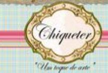 ChiqueTer / Arte e ilustração digital. para scrapbook, cartões e web.