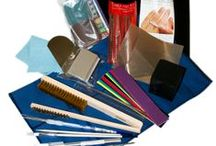 Metal Clay Tools & Supplies / Tools and supplies for working with metal clay, all available at Cindy Pankopf's Creative Place in Fullerton, CA and at http://cindypankopf.com/shop/index.php?main_page=index&cPath=4 / by Cindy Pankopf's Creative Place