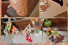 Fall fun / Fall activities and celebrations. Autumn foods and crafts. Thanksgiving, Halloween, Back to School, Oktoberfest