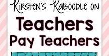 Kirsten's Teachers Pay Teachers Store / This board contains links for easy to use, engaging language arts and social emotional resources for the elementary classroom. Products are designed as low to no-prep, rigorous activities that will be fun and challenging for your students.
