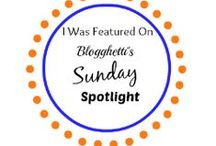Sunday Spotlight on Blogghetti / Want to feature your blog on Sunday Spotlight? Would like more traffic to your site? Recipes, DIY, Writers, etc.  Check out the others that have been featured and join in! http://blogghetti.blogspot.com/p/sunday-spotlight.html
