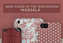 Color of the Year: Marsala / by Skinit