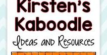 Kirsten's Kaboodle Ideas and Resources / Kirsten's Kaboodle offers language arts and social emotional activities, tips, and ideas.  www.kirstenskaboodle.com