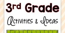 3rd Grade Activities and Ideas / Are you a third grade teacher looking for fun, engaging activities and ideas for your students? These easy-to-use projects can be implemented with any 3rd grade group of students... and it won't feel like work for you or your students!