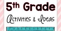 5th Grade Activities and Ideas / Teaching ideas, tips, tricks, inspiration, anchor charts, and lessons for the 5th grade teacher.