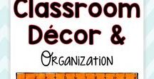Classroom Decor and Organization / Who doesn't love to check out amazing classroom decor and organization?  This board is full of classroom photos, organization tips and trick, and bulletin board ideas for classroom teachers!  I love bright colors and cleanliness... that's what you'll find here!