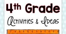 4th Grade Activities and Ideas / Are you a fourth grade teacher looking for fun, engaging activities and ideas for your students? These easy-to-use projects can be implemented with any 4th grade group of students... and it won't feel like work for you or your students!