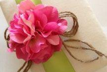Flower {gift wrap}
