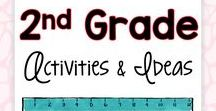 2nd Grade Activities and Ideas / Are you a second grade teacher looking for fun, engaging activities and ideas for your students? These easy-to-use projects can be implemented with any 2nd grade group of students... and it won't feel like work for you or your students!