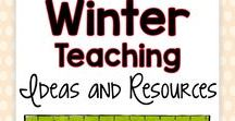 Winter Teaching Ideas and Resources / Are you looking for winter themed teaching ideas and resources for your students? This Pinterest board includes winter themed projects, holiday activities and ideas, and inspiration for fun at home with your own kids!