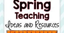 Spring Teaching Ideas and Resources / This board contains engaging spring-themed DIY crafts, lesson ideas, tips, tricks, art projects, St. Patrick's Day ideas, Easter projects, activities, and inspiration for moms and teachers.