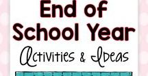 End of the School Year Activities and Ideas / Creative, easy to use, practical ideas and activities for the end of the school year.  Teachers need end of year resources to be useful and engaging for wiggly students!