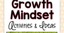 Growth Mindset Activities and Ideas / Are you a teacher who needs easy-to-use growth mindset activities, tips, posters, tricks, inspiration, tips, and lessons for elementary students?  These low to no prep ideas for teaching growth mindset are fun and engaging for any student!
