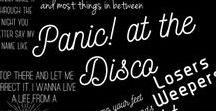 ✦Music✦ / ✦ Panic! at the Disco ✦ Twenty Øne Piløts ✦ Fall Out Boy ✦ My chemical romance ✦
