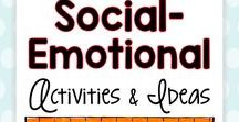 Social Emotional Activities and Ideas / Student's feelings and emotions play a huge part in their learning in the classroom.  This board will help teachers understand student emotions and provide tips and tricks for helping students manage their feelings so they are ready to learn!