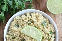 Quinoa on the side