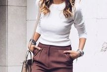 """▶️ fall outfits / inspiration:  what to wear in the autumn & look """"cool"""""""