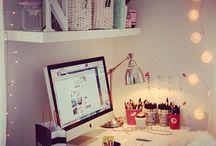 Munka szoba - Workroom / by Noémi Mounier