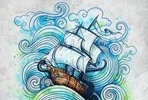 drawings & patterns