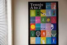 Tennis / 這裡精心挑選了世界上關於網球有趣的故事:設計、藝術、時尚、音樂與一點小知識,在「網球場的路上」無論你是網球迷、選手或經過的路人,都會覺得「啊,好有趣呀!」http://tothetenniscourt.blogspot.com / by 我們看到了。 我們是生活@家。
