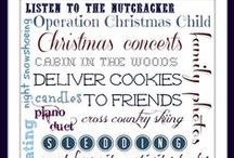Winter Bucket List Inspiration! / Check out these Winter Bucket List samples for ideas to include on your own Winter Bucket List or to inspire your own creative format. Also in the mix there are printables you can print and use as your own or DIY forms.  / by Sandra Norman