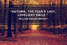 Autumn. / by Katy McLean
