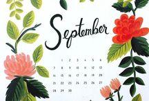 Graphic Design || Calendars