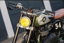 Custom Bikes / CAFE RACERS , TRACKERS , SCRAMBLERS basicly every custom bike. / by Mert Erarslan