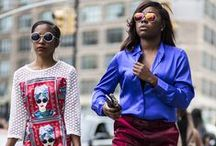New York: Street Style / We've selected the most covetable New York street style, fresh from the SS16 shows.  / by Topshop