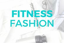[Fitness Fashion + Workout Outfits] / Fitness outfits including workout leggings, sweatproof workout tops, running shoes, workout headbands, and more! Look good while on your journey to look good.