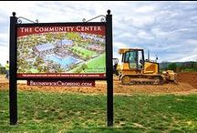 Our Story / Brunswick Crossing is a new home community in Brunswick, Maryland. Take a look at how far we've come - brick by brick.