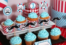 Birthday Party-Little Man Mustache Party / by Brenda Mexicano-Rodriguez