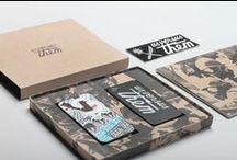 Organic Packaging / Recopilación de paquetería con materiales benévolos con el medio ambiente.