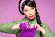 Knitting: harder than it looks :) / I'm a crocheter trying to expand my yarn skills / by Johanna Kimberl