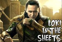 Up All Night To Get Loki / T-Hiddy and Avengers / by Johanna Kimberl